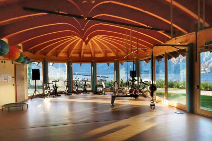 Gym in Malcesine at Lake Garda