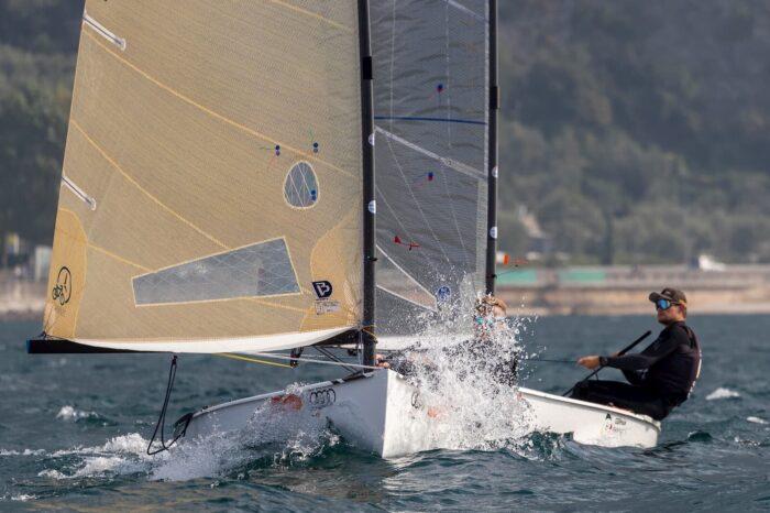 Finn Cup Regata alla Fraglia Vela Malcesine, sul lago di Garda