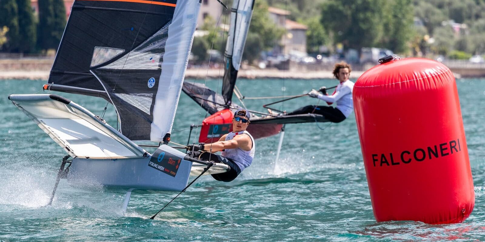 Moth National Foiling Week Fraglia Vela Malcesine regata