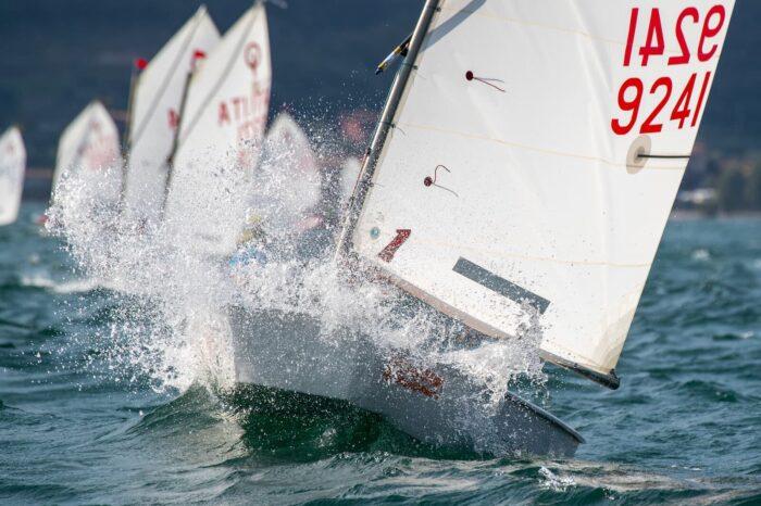 Optimist di bolina al Trofeo Simone Lombardi, classica regata di agosto
