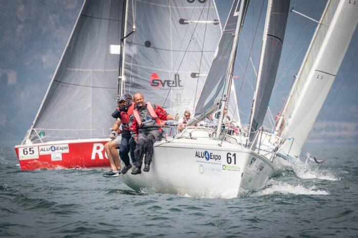 Incrocio tra due Dolphin 81, durante il campionato nazionale 2018