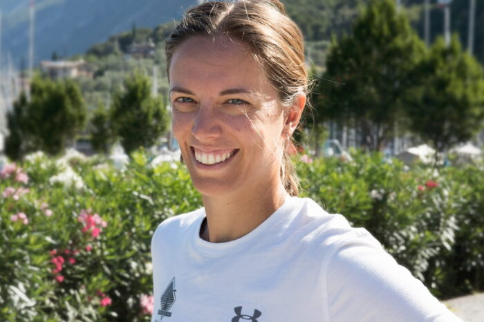 Giorgia Brizio: istruttore windsurf Fraglia Vela Malcesine