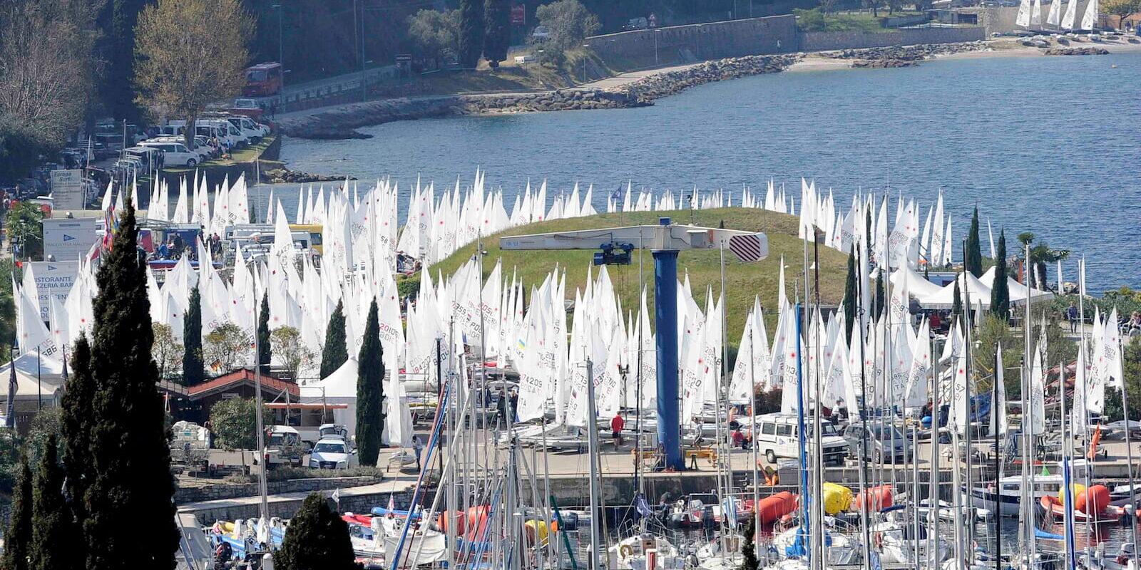 Meeting Regate Fraglia Vela Malcesine Lago di Garda
