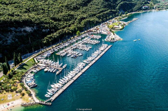 Marina di Navene Porto Malcesine Fraglia Vela Malcesine