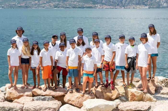squadra agonistica windsurf fraglia velka malcesine lago garda