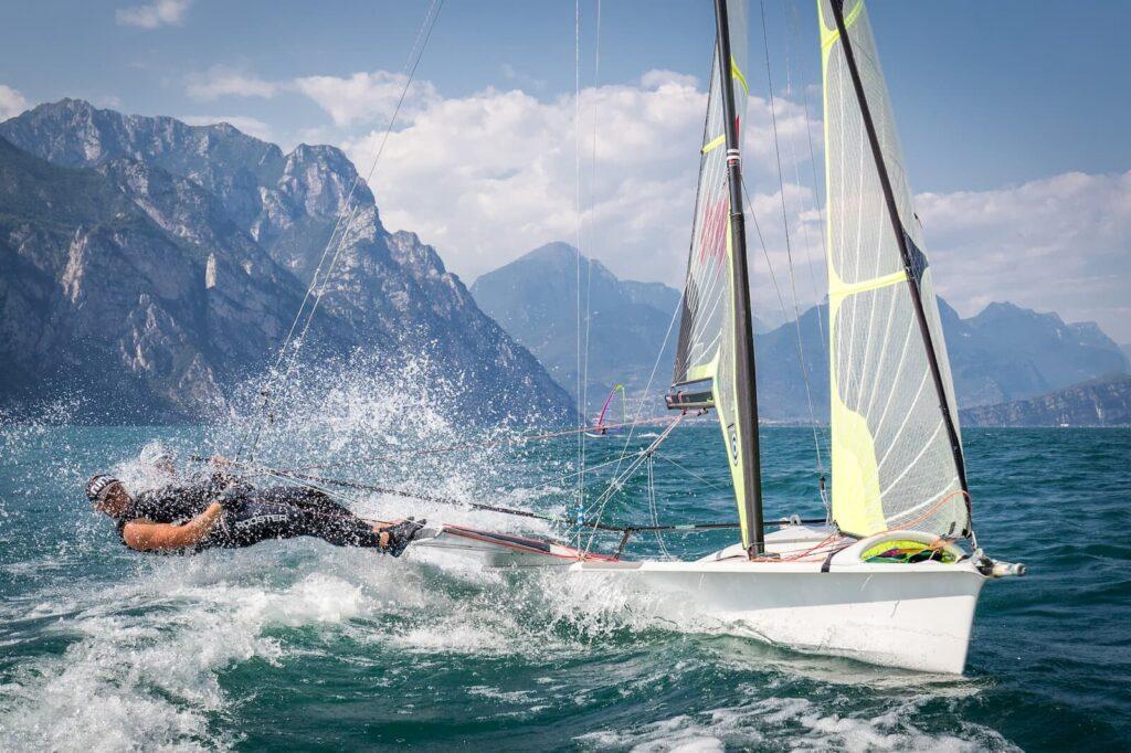 49er Skiff Classe Olimpica Fraglia Vela Malcesine