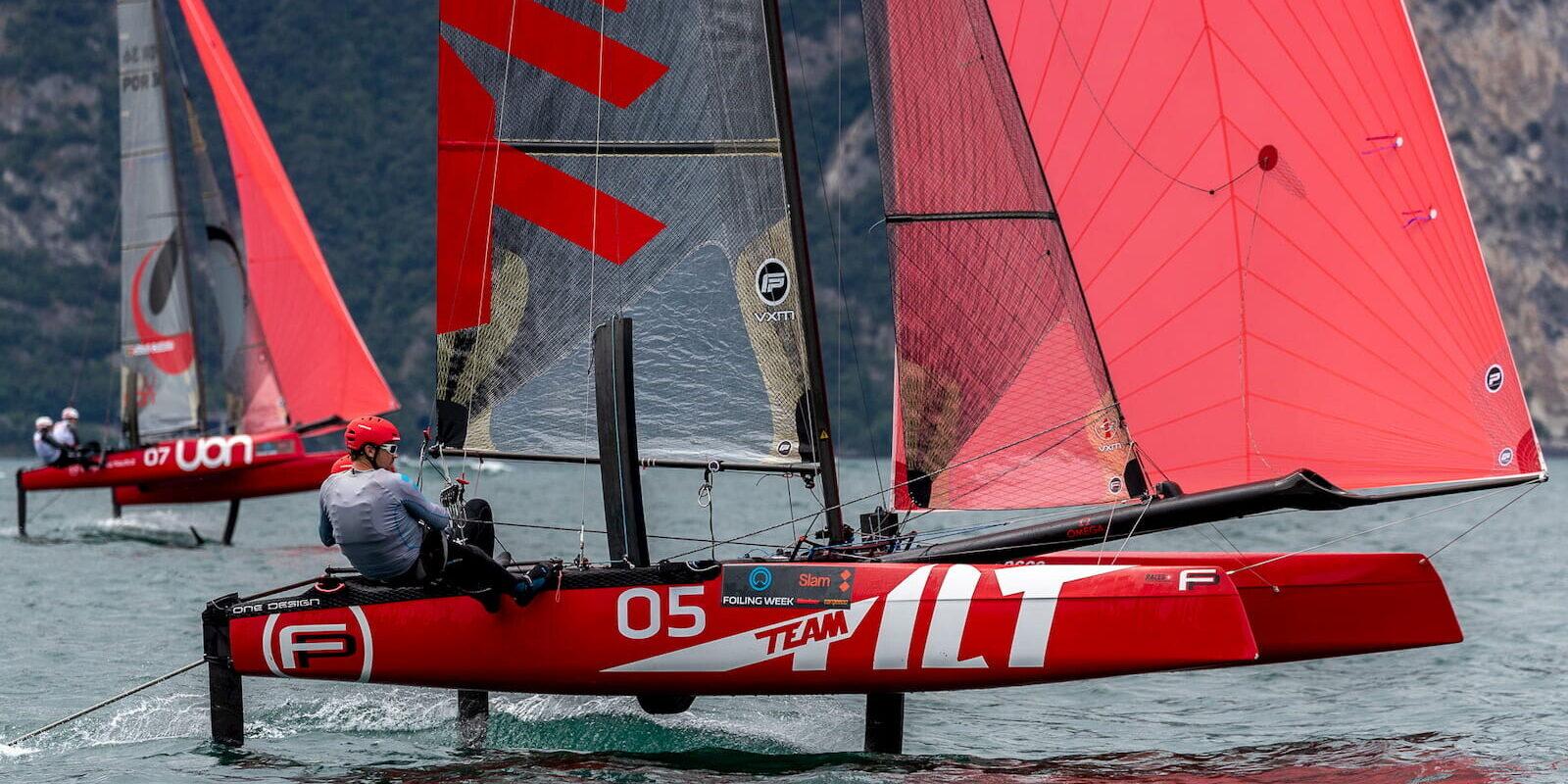 Catamarano Foiling Week 2019 Fraglia Vela Malcesine