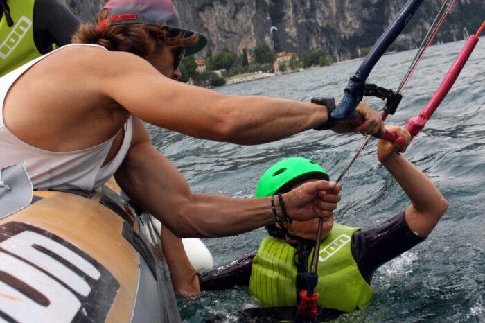 Easykite Corsi Kite Fraglia Vela Malcesine