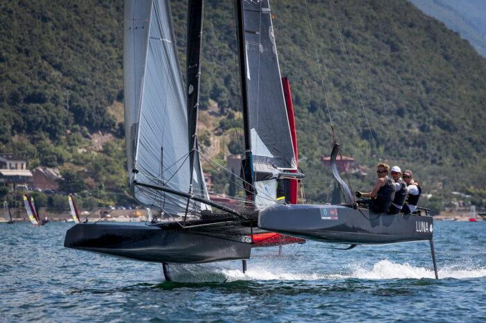 Foiling Week Catamarano Fraglia Vela Malcesine, Lago di Garda