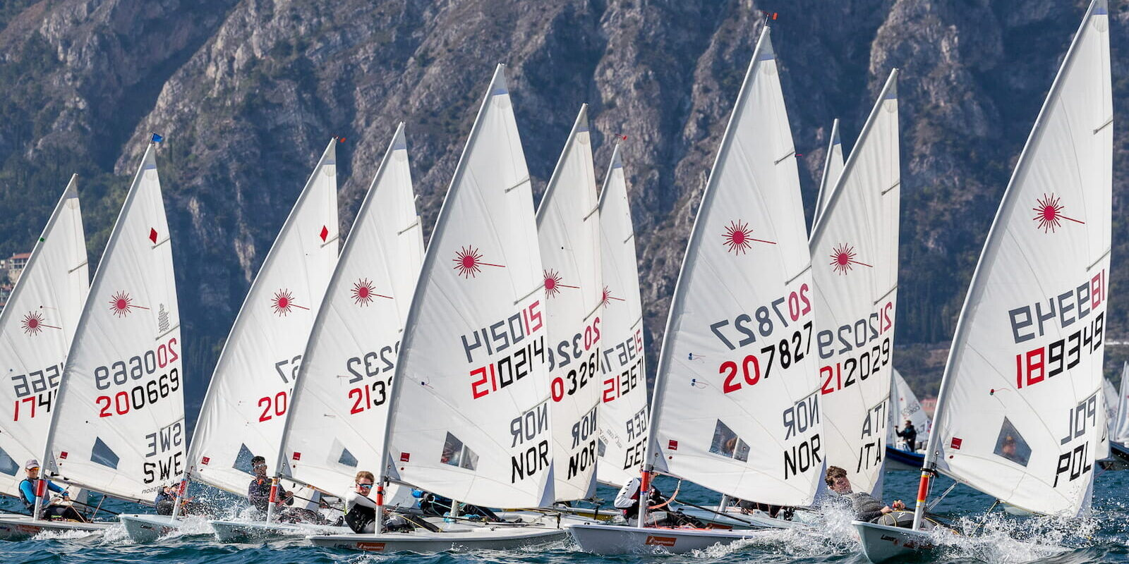 Laser Youth Easter Meeting 2019 Fraglia Vela Malcesine Angela Trawoeger K3I1735
