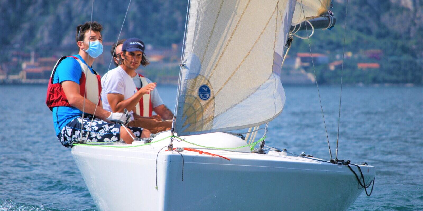 lezioni private fraglia vela malcesine lago garda
