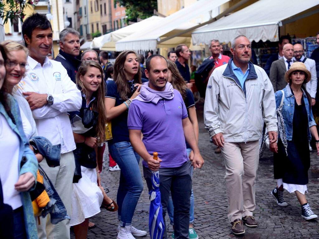 Mattia Lonardi Inaugurazione Mondiale Star 2014 Fraglia Vela Malcesine