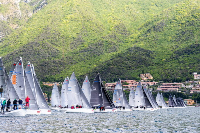 Melges 24 Tour 2019 Prima Tappa Fraglia Vela Malcesine