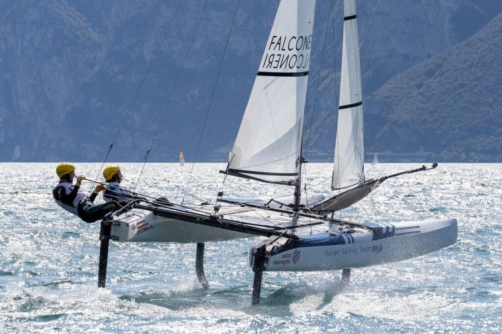 Nacra 17 Catamarano Classe Olimpica Fraglia Vela Malcesine