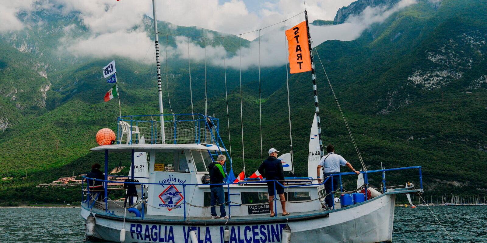 provvidenza comitato regata fraglia vela malcesine lago garda