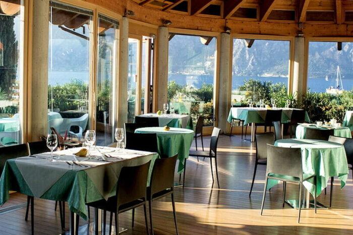 Ristorante Via Col Vento Fraglia Vela Malcesine Lago di Garda