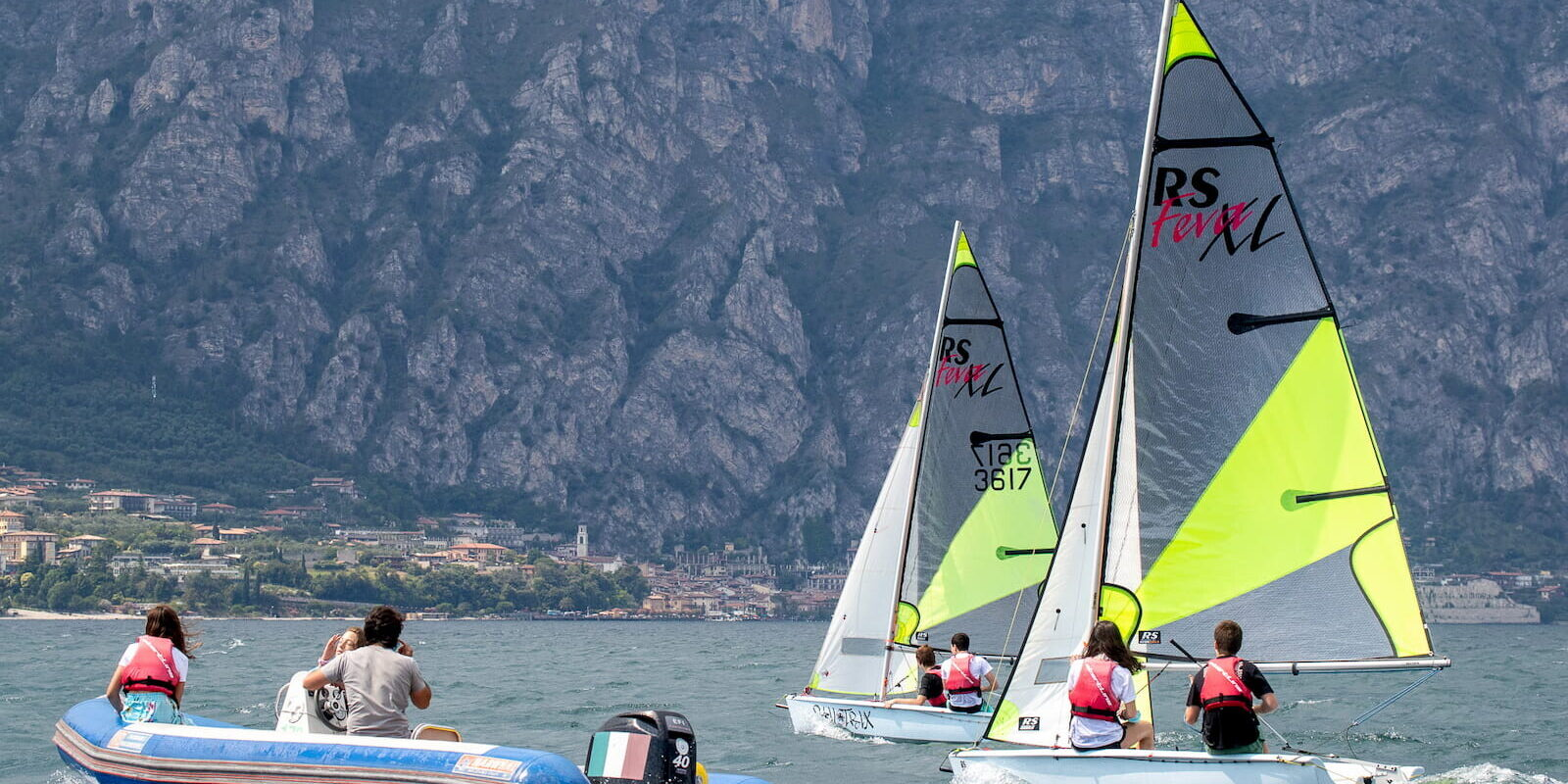 Corso Vela Ragazzi a Malcesine, Lago di Garda Fraglia Vela Malcesine