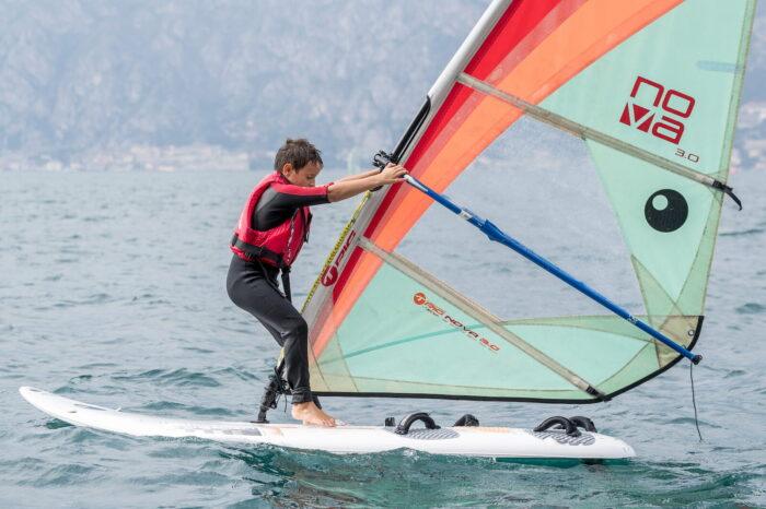 Scuola Vela Windsurf Techno 293 Fraglia Vela Malcesine