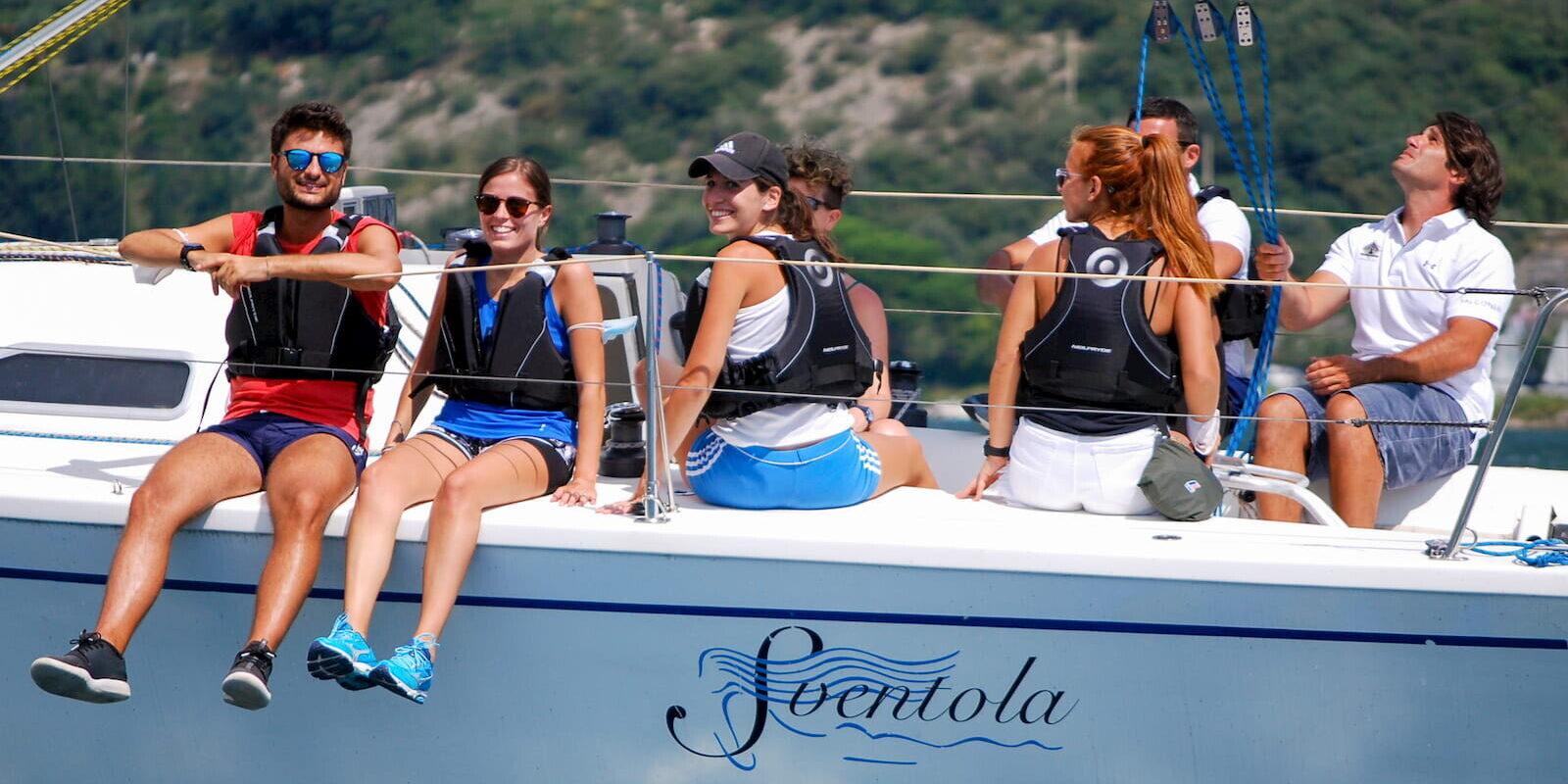 Veleggiate con istruttore Skipper al Lago di Garda Fraglia Vela Malcesine