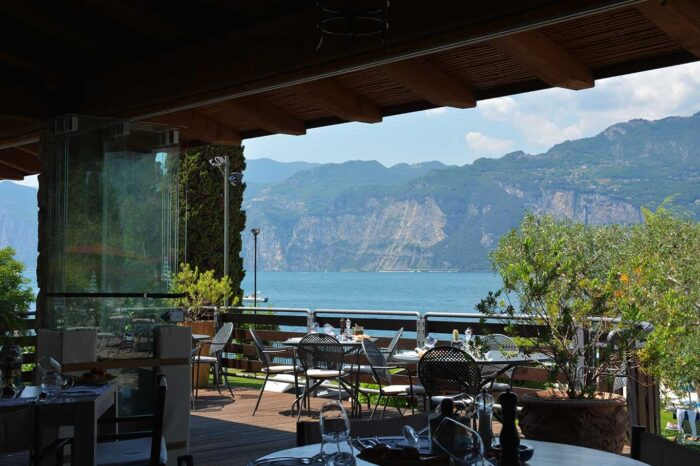 Ristorante Sailing Center Hotel Partner Fraglia Vela Malcesine