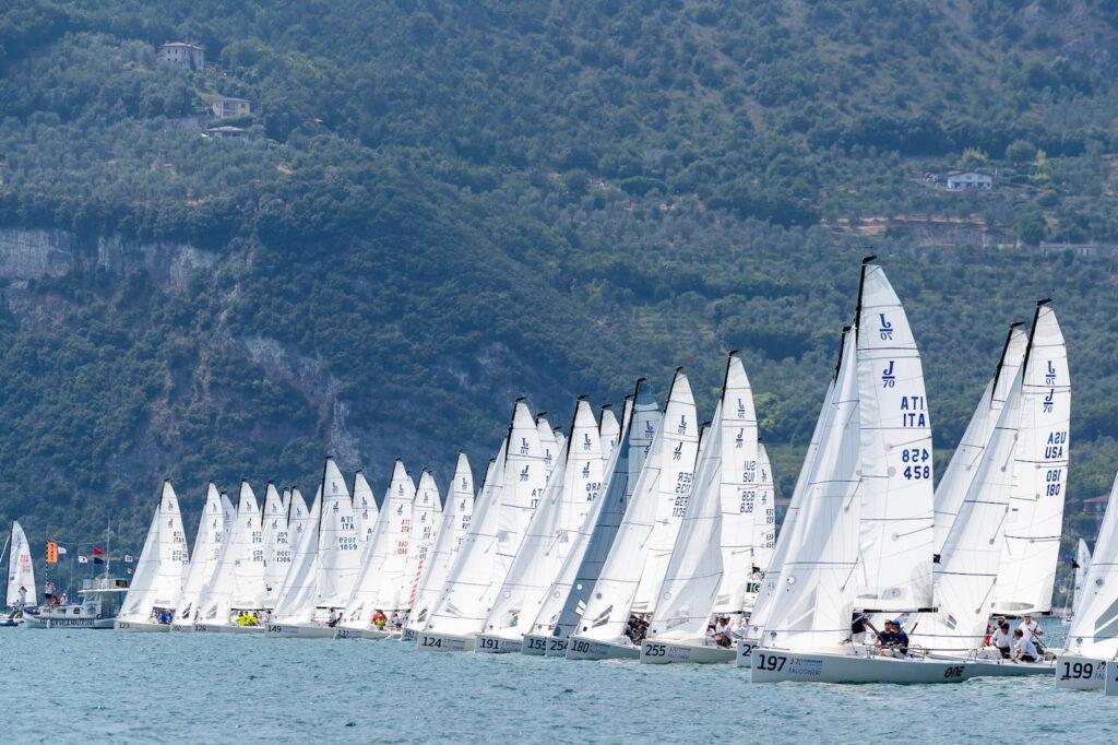 Campionato Europeo J70 Fraglia Vela Malcesine Lago di Garda