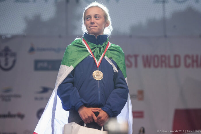 Gaia Bergonzini seconda femminile al Mondiale Optimist Polonia 2015