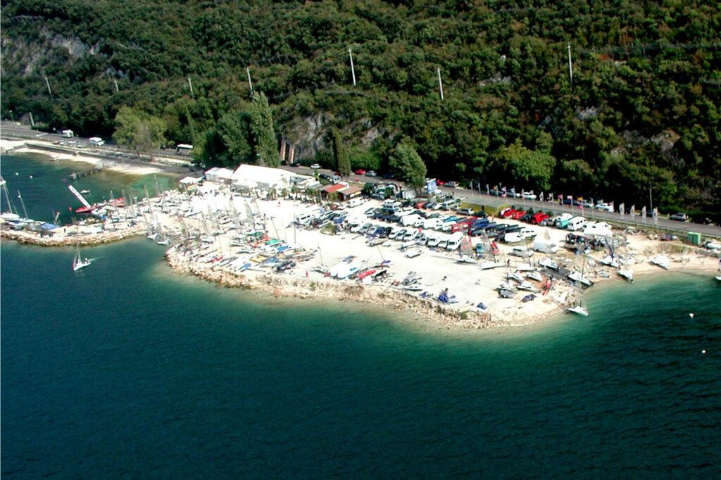 piazzale navene regate 2000 fraglia vela malcesine lago garda