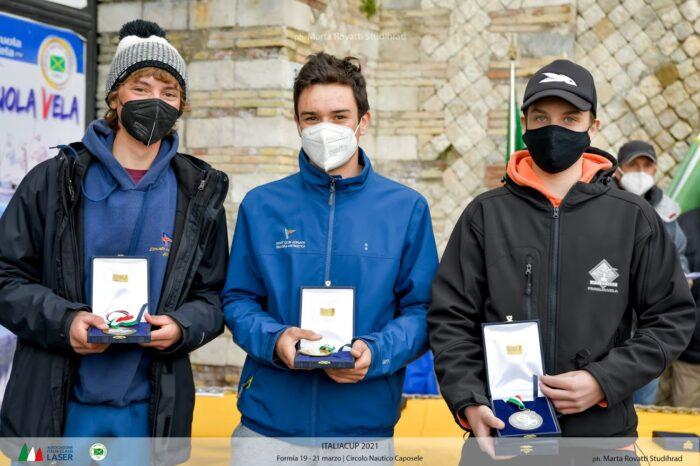 jan meletti secondo 4.7 maschile coppa italia laser formia 2021 fraglia vela malcesine