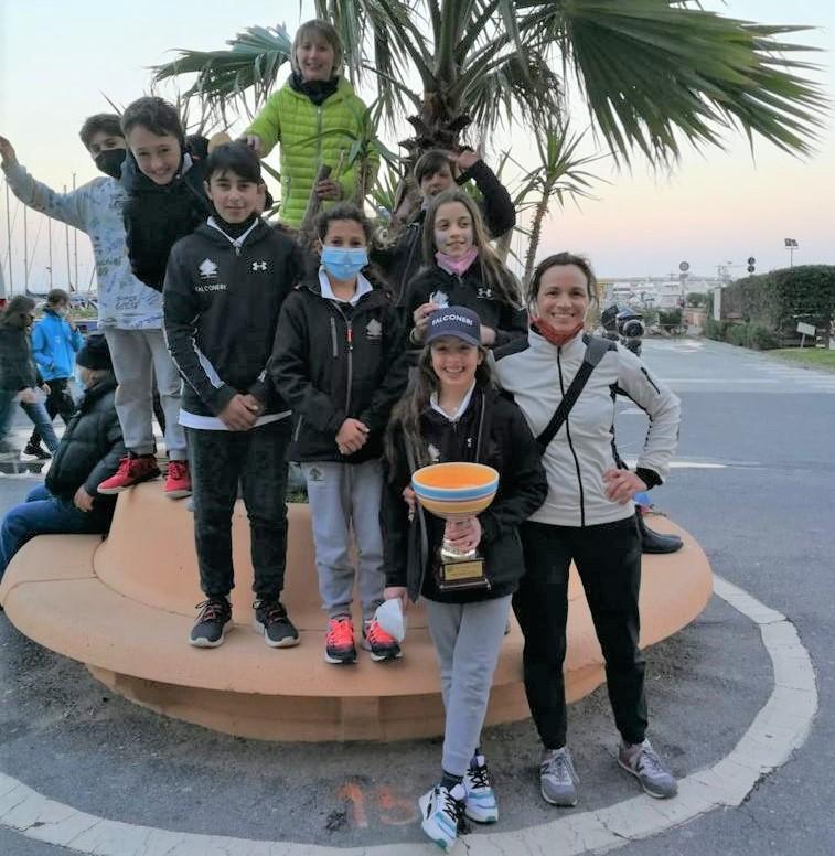 squadra optimist alassio meeting gioventu 2021 fraglia vela malcesine