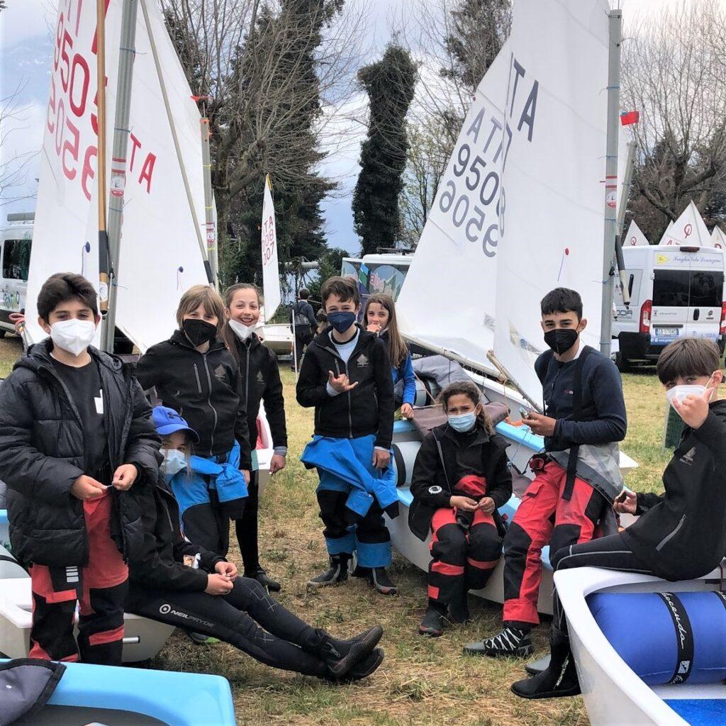 squadra optimist gravedona interzonale marzo 2021