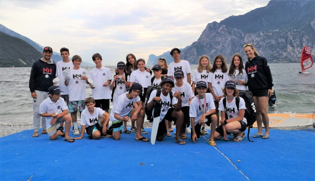 techno293 team torbole windsurfing week 2021