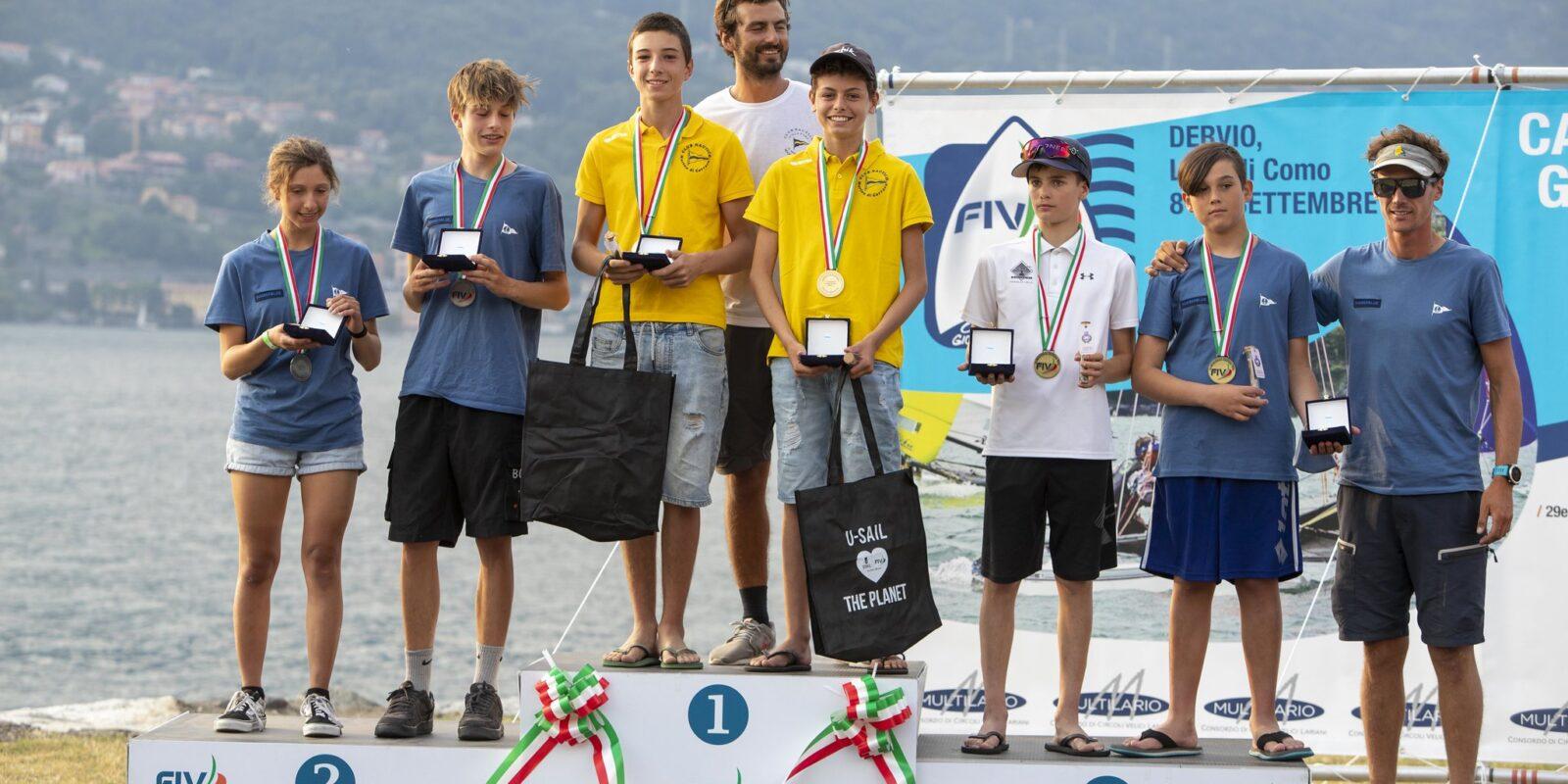 edoardo alex brighenti terzo posto campionati italiani rsfeva dervio 2021