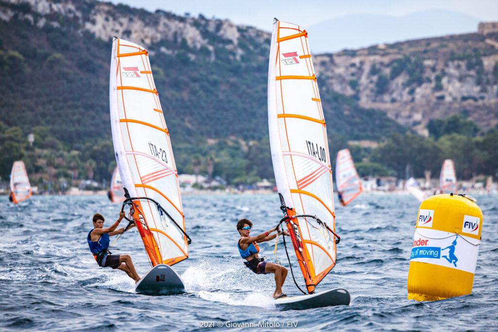 edoardo guarnati campione italiano under15 techno293 2021 fraglia vela malcesine
