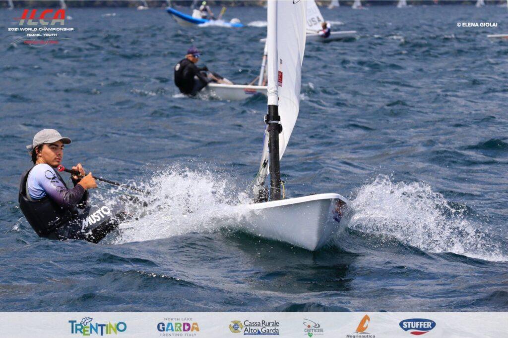 lorenzo predari ilca radial youth 2021 world championship